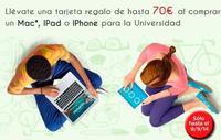 Apple vuelve con 'Back to School' y una tarjeta regalo de hasta 70 euros