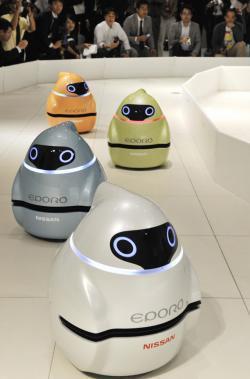 Eporo, robot antiobstáculos de Nissan