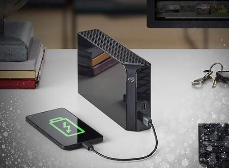 El disco duro externo y hub USB Seagate Backup Plus de 6 TB está más barato que nunca en Amazon: 111,30 euros