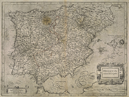 Hispania Nova Descriptio1600