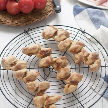 Espigas de pan rellenas de bacon, receta para devorar a dos carrillos