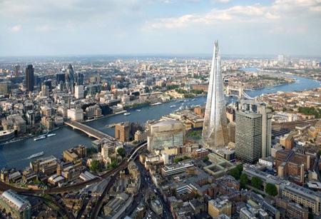 Vista Londres desde The Sharp