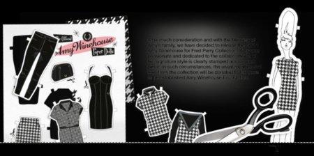 Una colección para la posteridad: Amy Winehouse para Fred Perry Otoño-Invierno 2011/2012