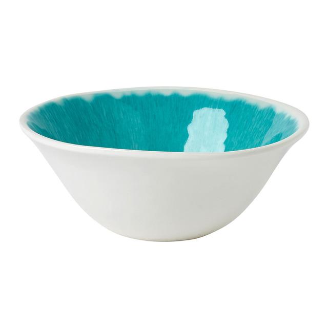 Bowl de melamina Swirl Celeste