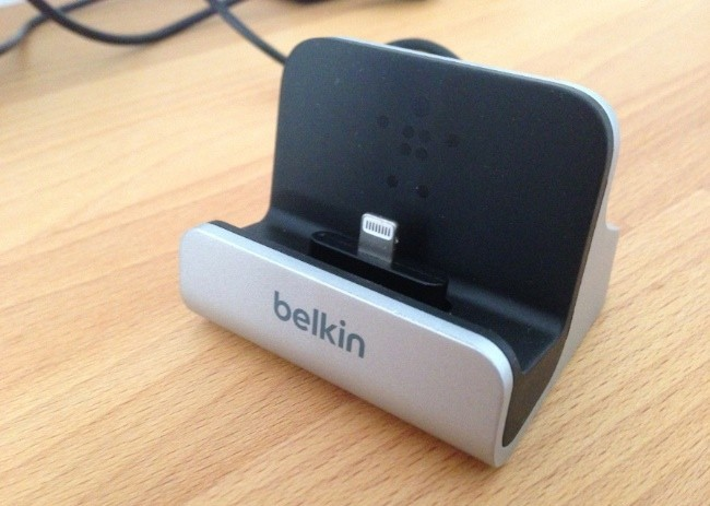 belkin dock iphone 5