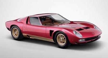 Un Lamborghini Miura SV Jota de 1971 a subasta, sólo se hicieron cinco