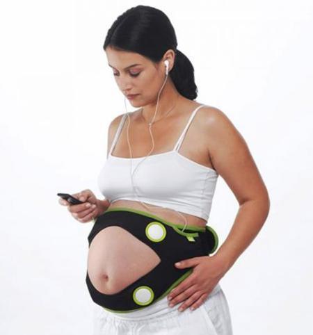 Altavoces para embarazadas, pon música a tu bebé