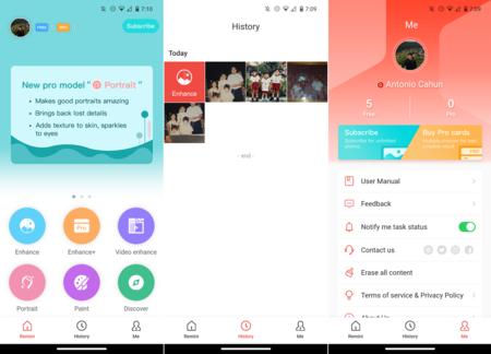 Remini App Mejorar Fotograficas Borrosas App Android Ios