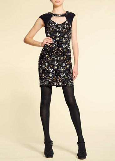 Vestidos cortos de fiesta de zara