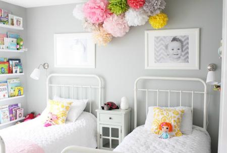 Espacios que inspiran: un dormitorio infantil para dos niñas