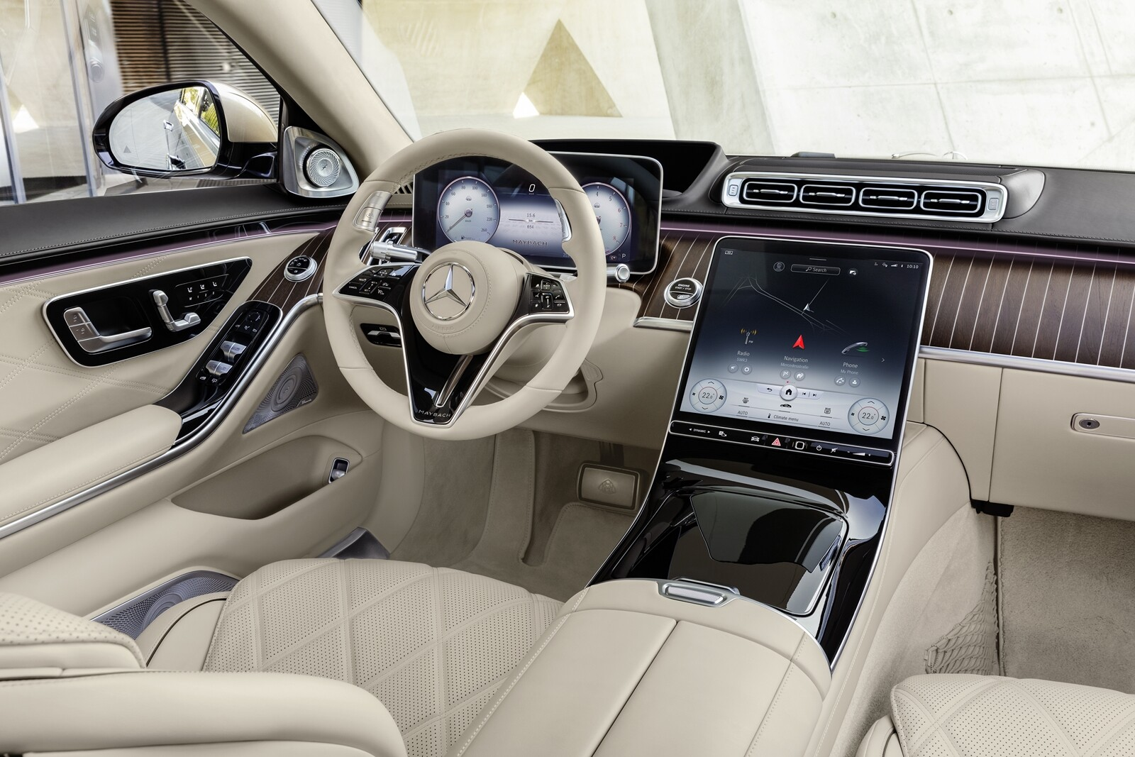 Foto de Mercedes-Maybach Clase S 2021 (12/43)