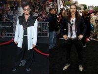 Johnny Depp y Óscar Jaenada, en el estreno de 'Piratas del Caribe': ¿ha vuelto el carnaval?