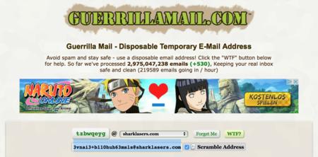 Guerrilla Email