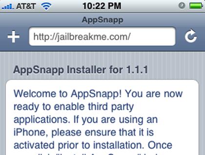 JailbreakMe, aplicaciones en el iPhone aun más sencillo