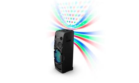 Completa es decir poco: la torre de sonido Sony MHCV50D.CEL, hoy en Amazon, está rebajada a 339 euros