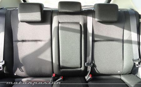Mazda3 1.6 CRTD 115 cv, plazas traseras