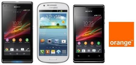 Precios Samsung Galaxy Express con 4G, Sony Xperia L y Xperia E con tarifas Orange
