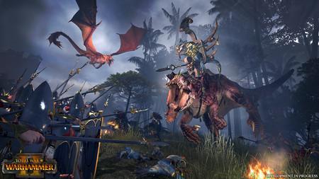 Total War: WARHAMMER II despliega en un nuevo vídeo el enorme mapa de su modo campaña