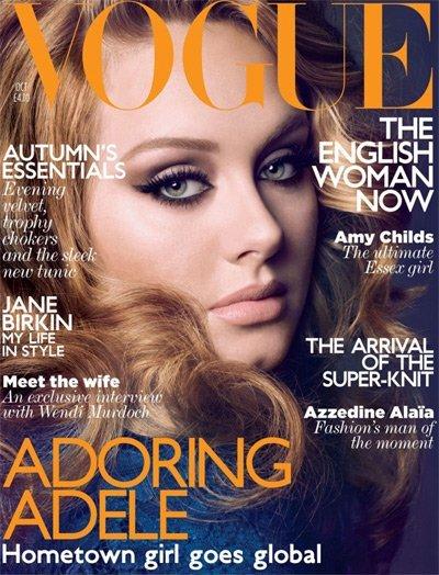 Los kilitos de Adele no sobran sobra el talento: ¡toma portadas!