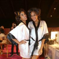 Jasmine Tookes y Cindy Bruna