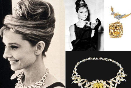Audrey and the Tiffany Diamond Necklace