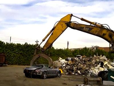 Dolorpasión™ es ver un Mercedes SLS AMG morir así