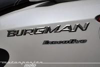 Suzuki Burgman 125 Executive, prueba (conducción en autopista y pasajero)