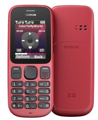 Nokia 101 en rojo
