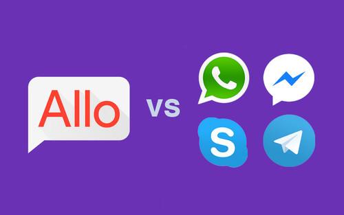 Google Allo contra WhatsApp, FB Messenger, Skype y Telegram: ¿ha subido Google a primera división?