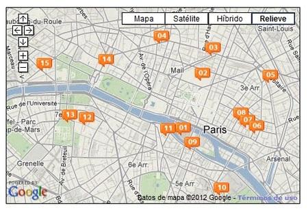 Audioguía de Paris: calles curiosas