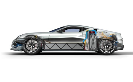 Rimac Concept One Esquema