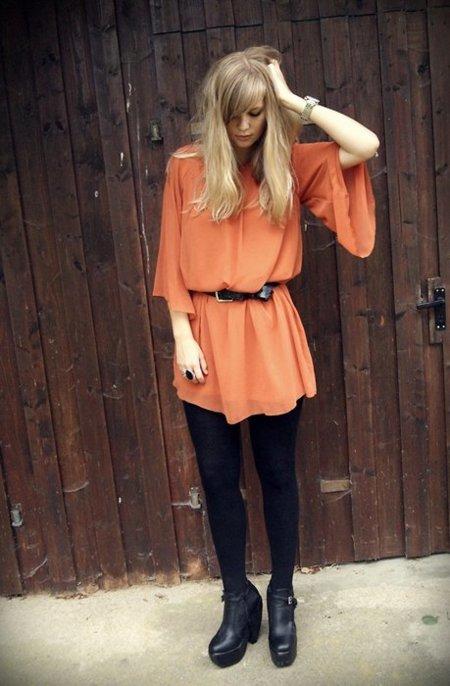 Look naranja