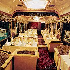 El tren más lujoso del mundo en China
