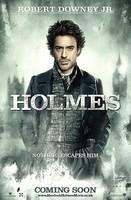 'Sherlock Holmes', carteles de Holmes y Watson