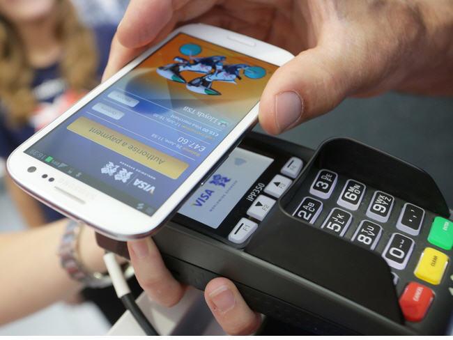 Visa payWave en el Samsung Galaxy S IV