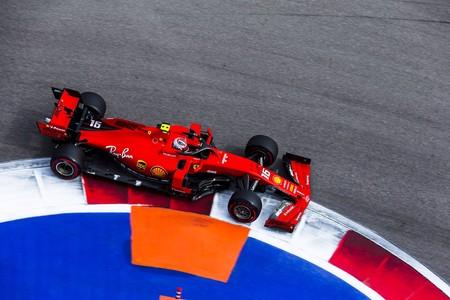 Leclerc Rusia F1 2019
