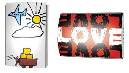 Lámparas personalizables con el dibujo de los niños