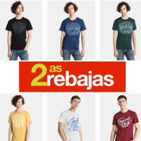 Segundas rebajas en El Corte Inglés: camisetas Jack&Jones desde 4,95 euros