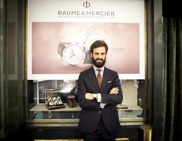 Enrique Solís, el nuevo embajador de Baume & Mercier, ofrece un workshop a los medios