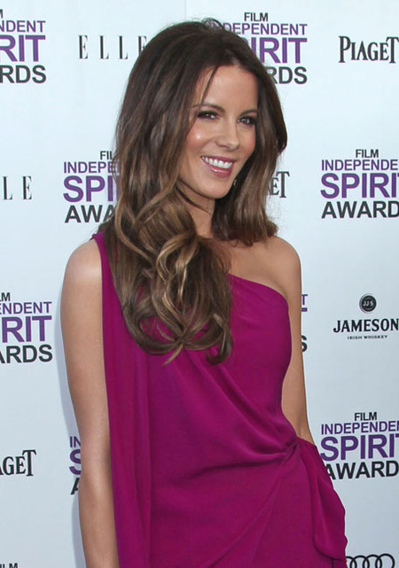 Kate Beckinsale mechas californianas