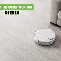 Mi Robot Mop Pro, el robot aspirador de Xiaomi con WiFi que también friega tu casa, rebajadísimo hoy con este cupón: 225 euros