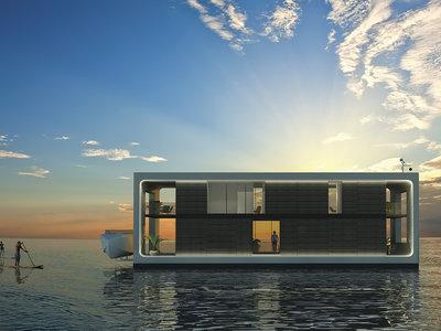 Ante huracanes, casas-yate: este concepto de vivienda está pensado para flotar y aguantar fuertes vientos y oleaje