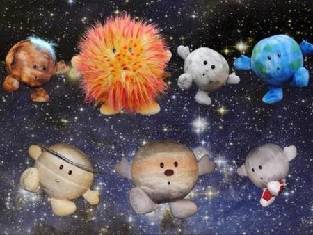 Planetas de peluche