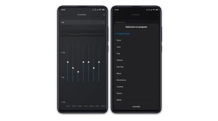 Xiaomi Mi 9t Pro Ajustes Audio Ecualizador
