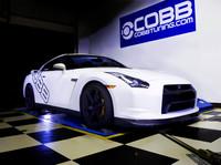Cobb consigue maravillas con un Nissan GT-R y E85