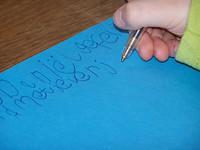 Cuidado con la escritura