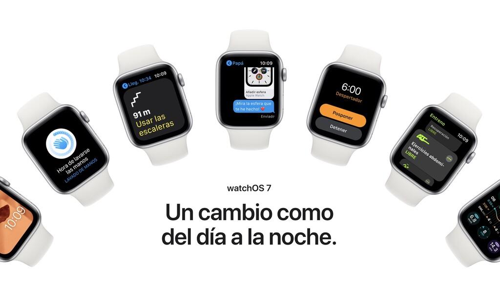 Apple lanza watchOS 7.1: corrección de errores de sincronización y notificaciones de salud auditiva