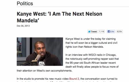 Kanye West Nelson Mandela 2 640x407