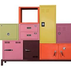 Foto 2 de 5 de la galería muebles-de-almacenaje-de-colores en Decoesfera