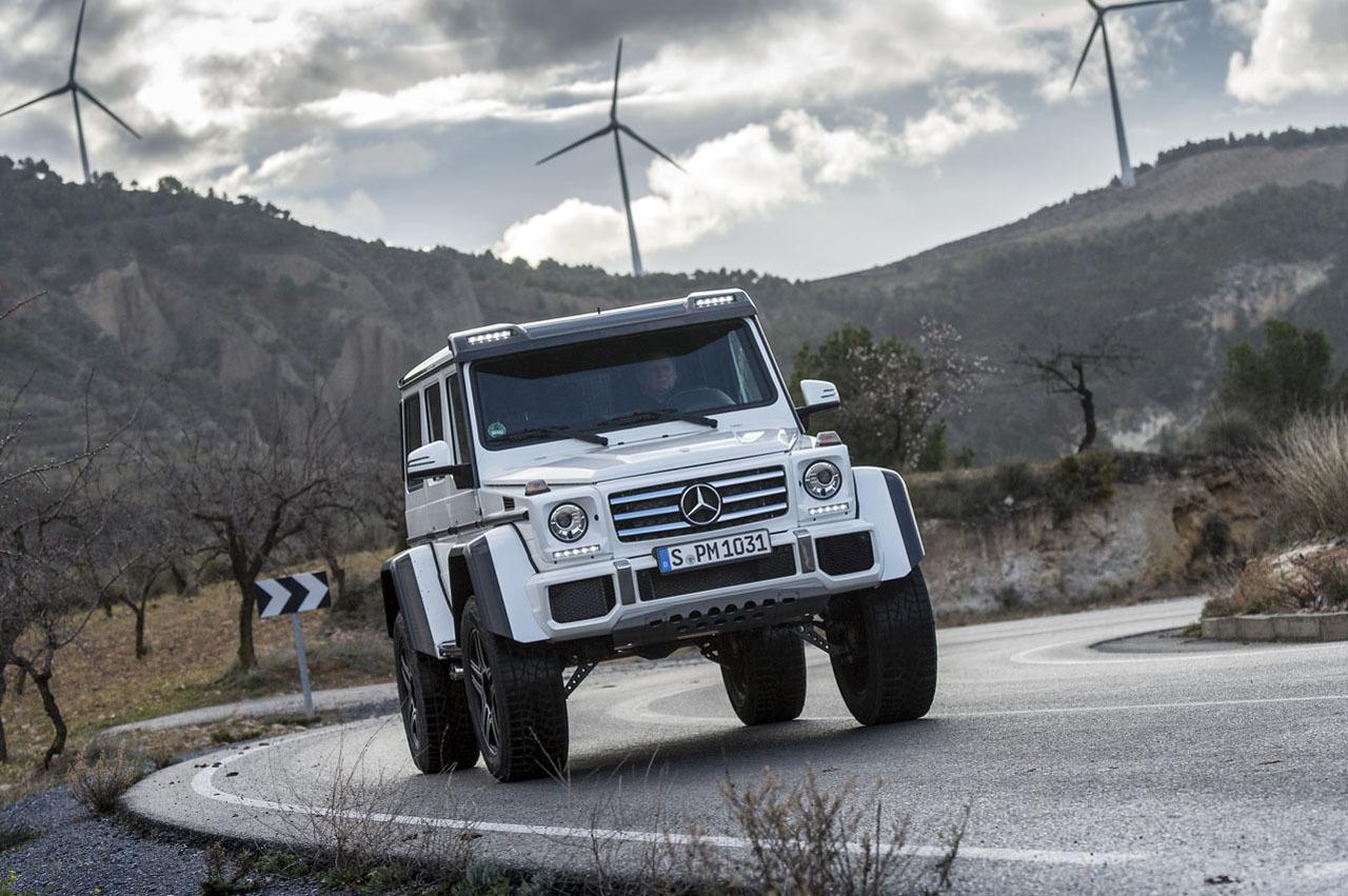Foto de Mercedes-Benz G 500 4x4², toma de contacto (26/127)